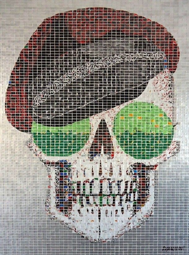 Recycled Soda Can Art