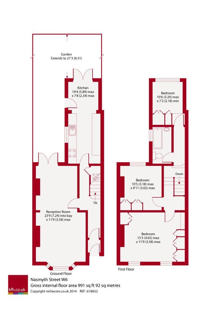 Perfect potential for the side return and loft extension floor plans terraces pinterest Victorian kitchen design layout