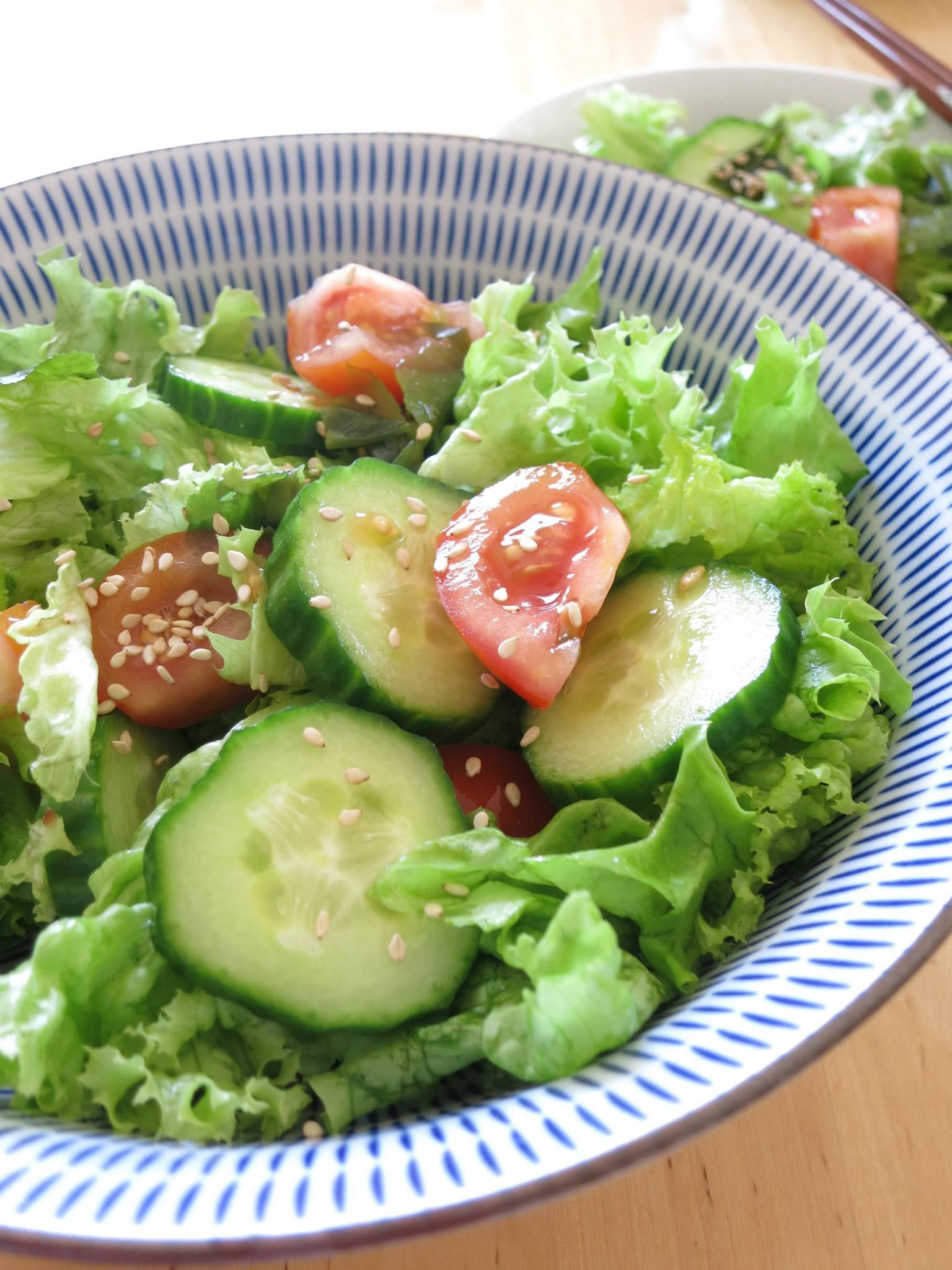 Wakame salat   ワカメサラダ   wakame sarada