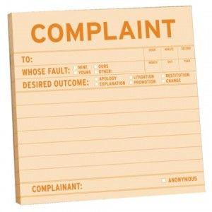 Complain Who Me  Ten Tips For Writing A Complaint Letter They