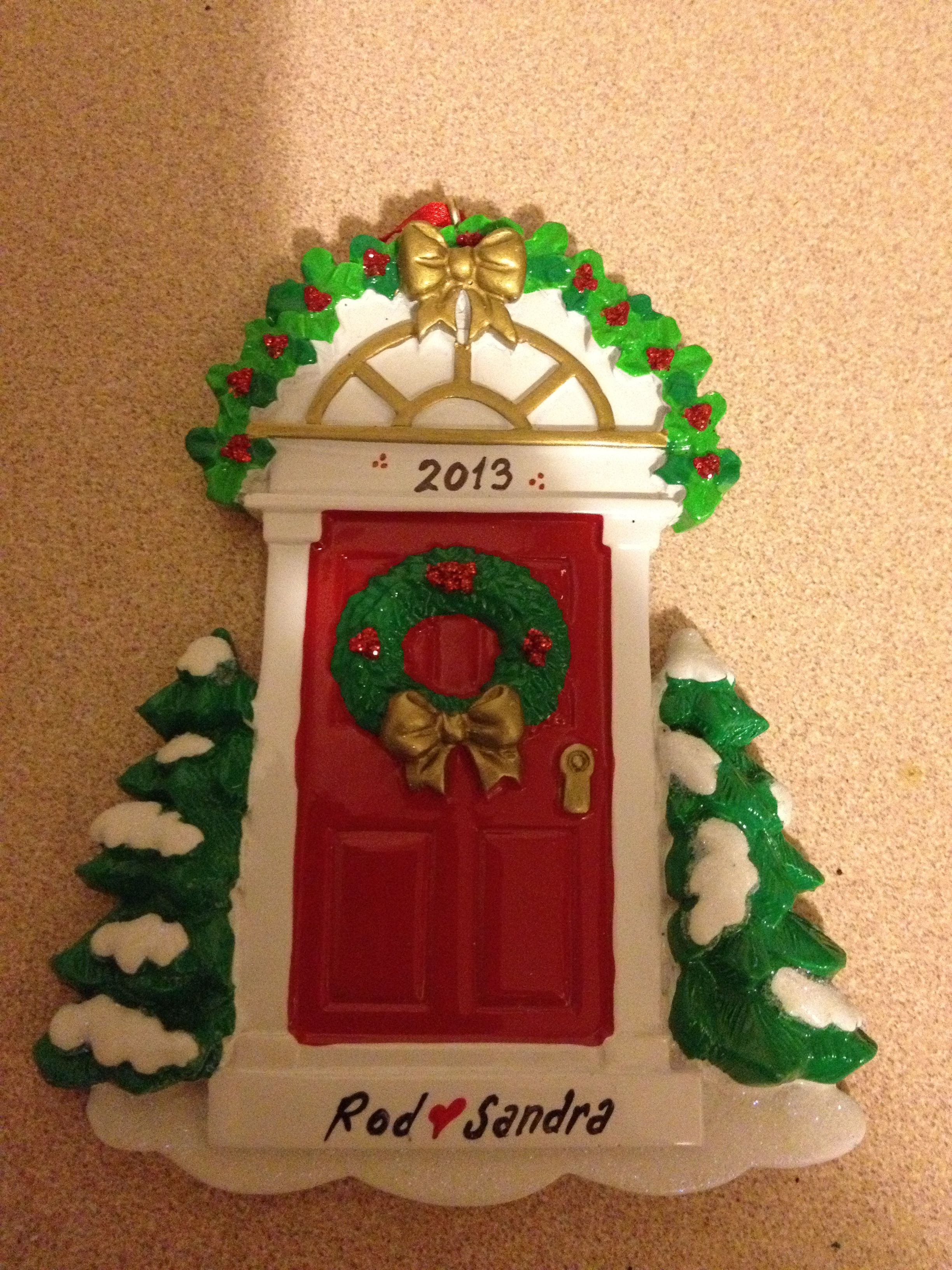 Our first Christmas ornament 2013🎄🎅 | Our first christmas ...