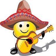 Guitar Smiley Emoticon Funny Emoji
