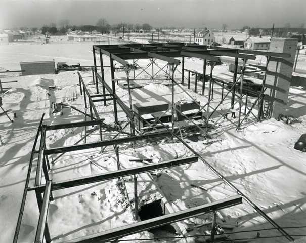 Construction Of Alexander Ramsey High School In Roseville 1963