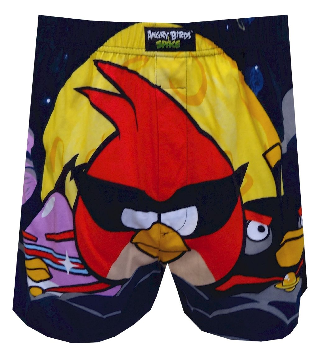 1922f8b4d0 Angry Birds Space Super Red and Monster Bird Boxers, $13.50 Watch out, evil  Space