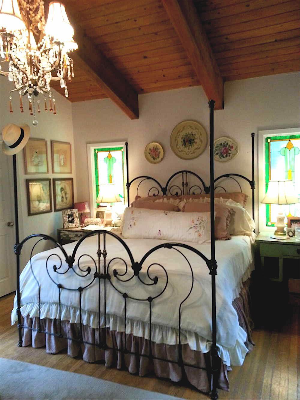 Steel Bed Frame Wrought Iron