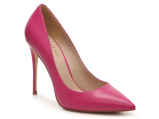 Women's Nicole Miller Artelier Maison Leather Pump - Pink