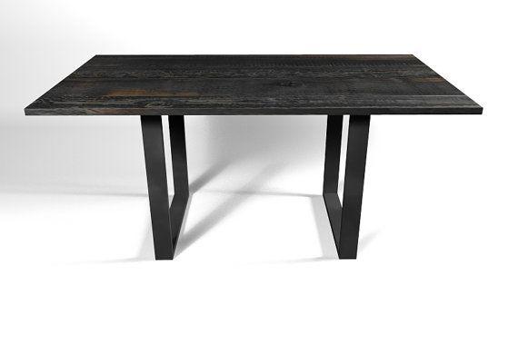 Square Steel Table Leg   90 Degree Table Leg, Raw Steel, Table Base,