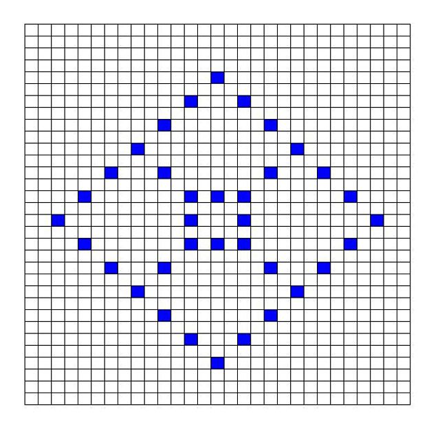 Ravelry: Diamond Bobble Chart by Kari Philpott | bobbles | Pinterest ...