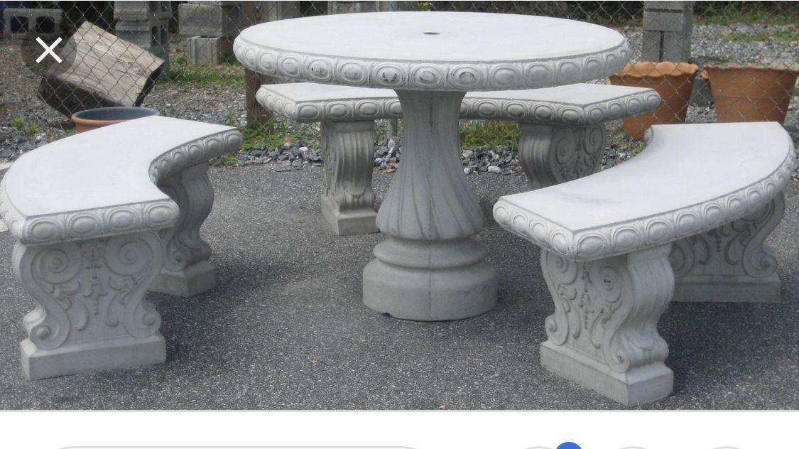 Tables Concrete Garden Bench Concrete Outdoor Furniture Wooden Garden Benches