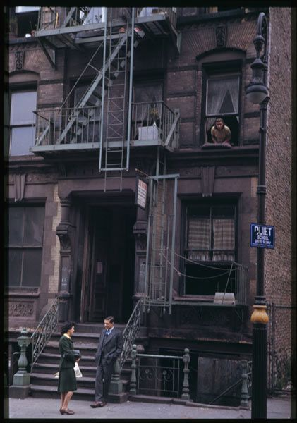 New York Street Scene, Lower East Side 1942