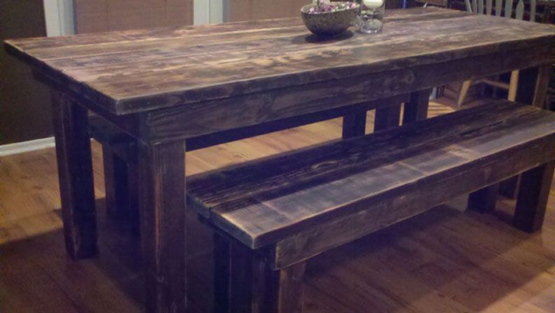 Reclaimed Wood Dining Tables Furniture Sets San Diego And Los