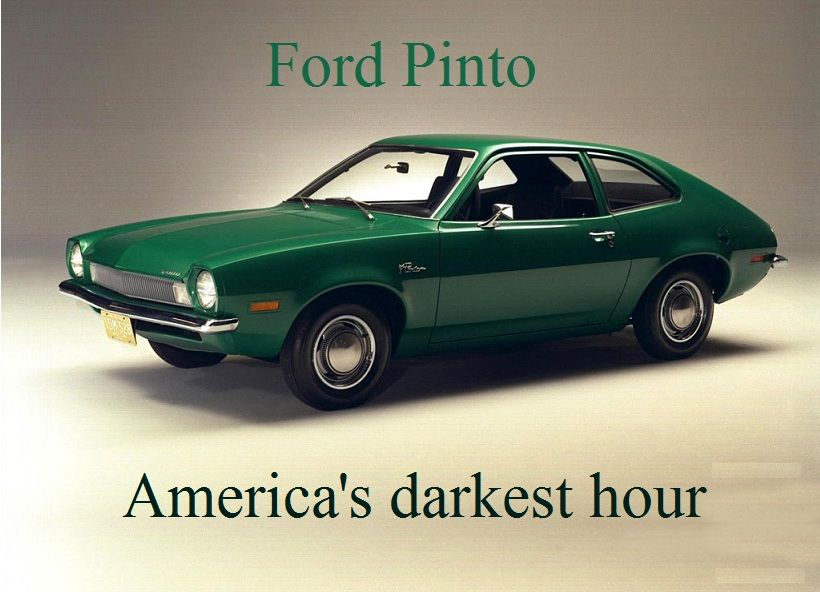 Green Ford Pinto America S Darkest Hour Ford Pinto Classic Cars Car Ford