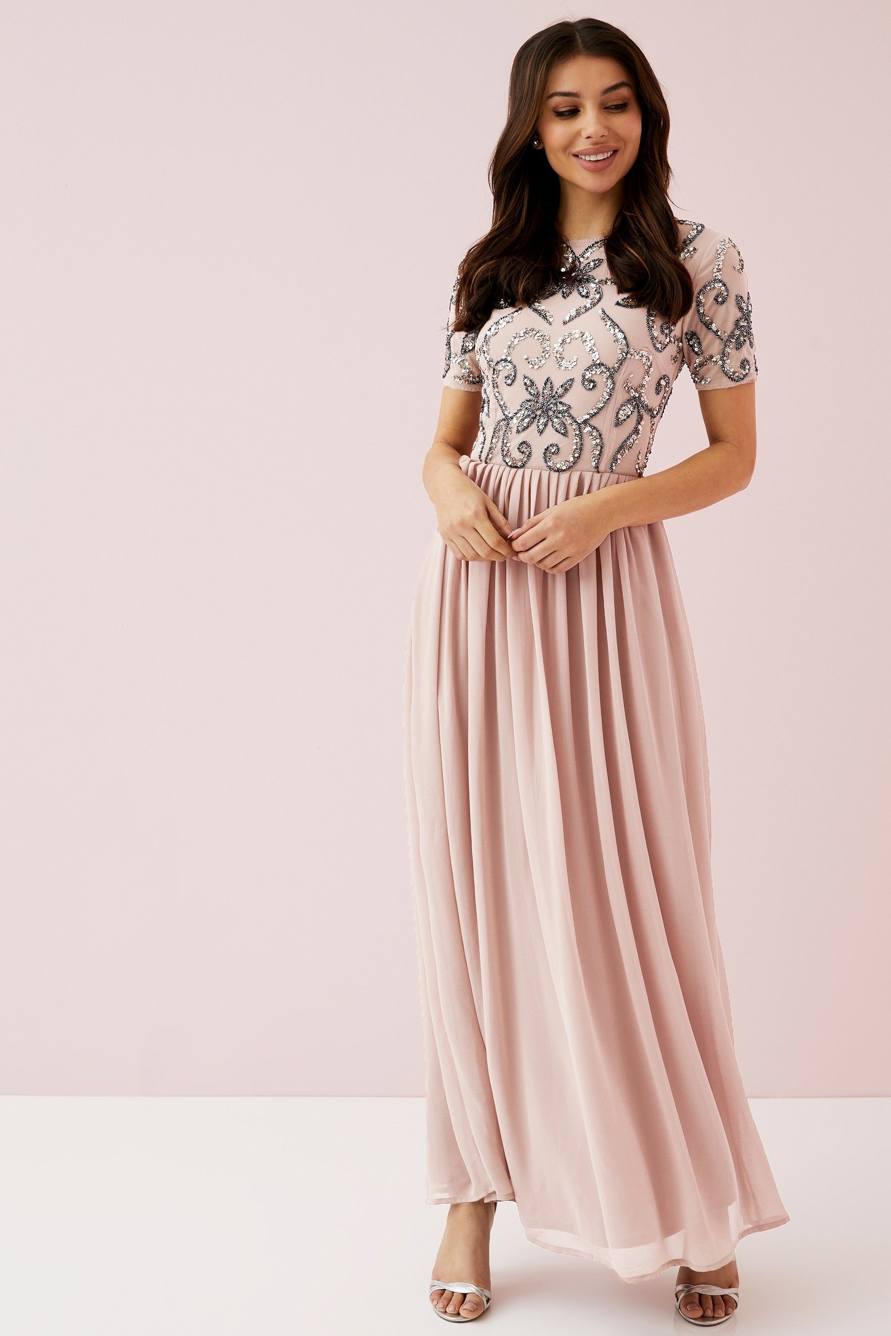 f6f8905959f3 Womens Angeleye Embellished Maxi Dress - Pink in 2019 | Products ...