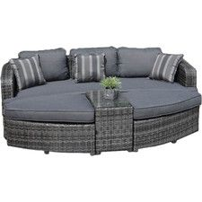 4-Piece Houston Patio Daybed Seating Group