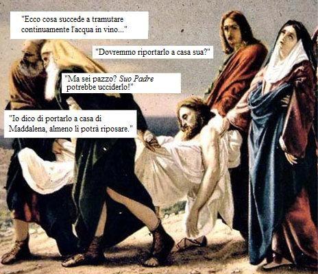 Gesu' Ubriaco !