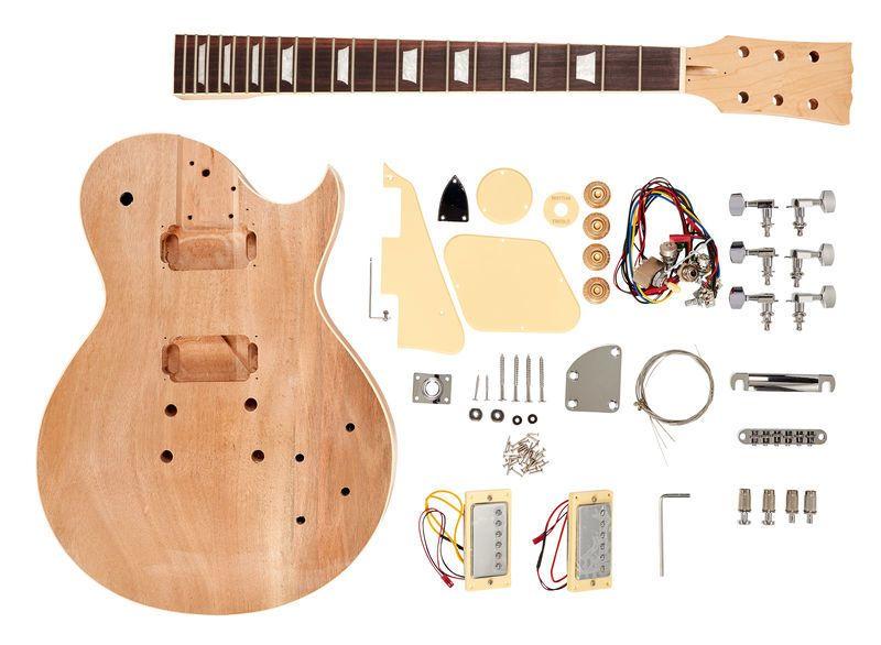 Harley Benton Electric Guitar Kit Single Cut Guitars Bits