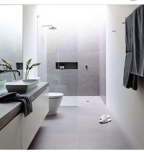 Ideas para reformar ba o con ducha espacios para el aseo for Banos super modernos