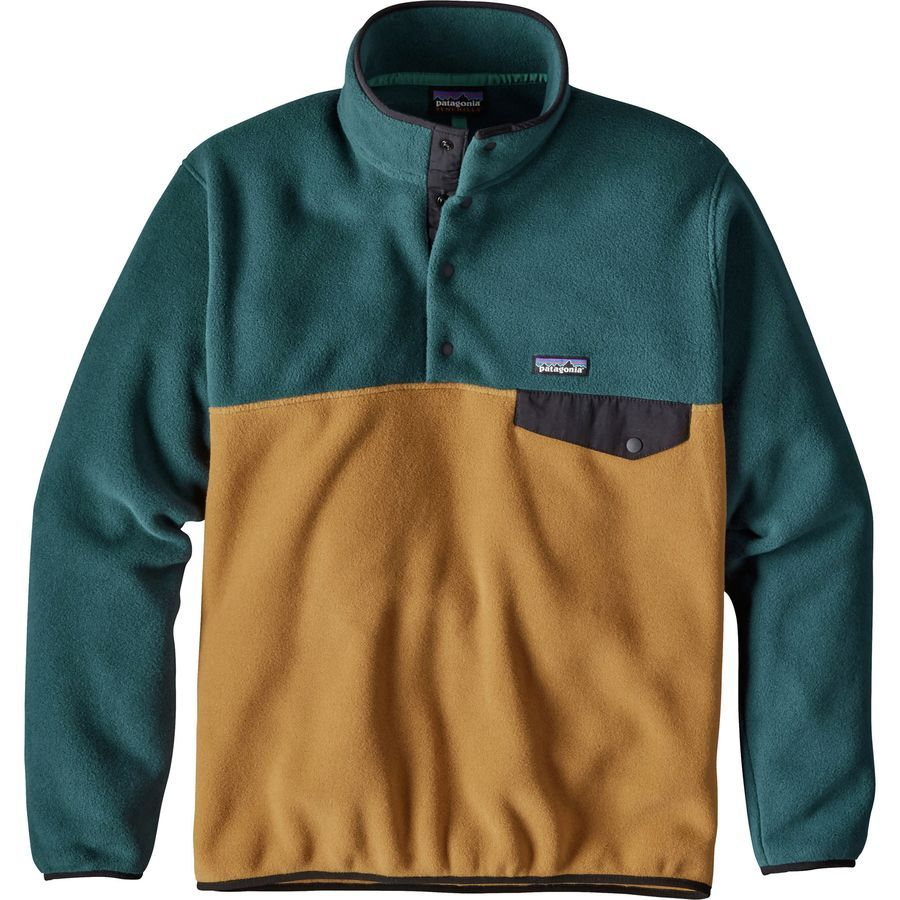 4a4b0718 Patagonia Lightweight Synchilla Snap-T Fleece Pullover - Men's in ...