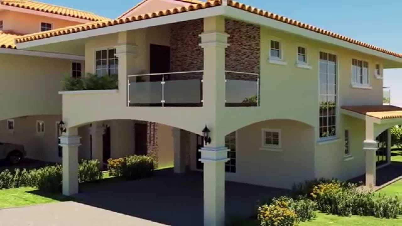 Venta De 4 Casas Exclusivas En Howard Panama Pacifico Panama Disenos De Casas Casas Fachada De Casa