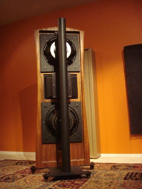 Open baffle Ardento speakers. Open Baffle / Full Range