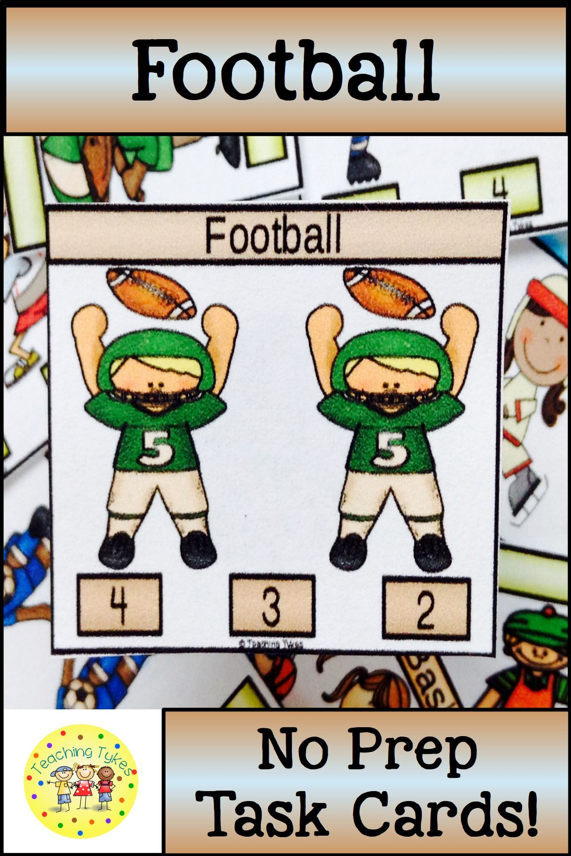 Football Activities And Task Cards