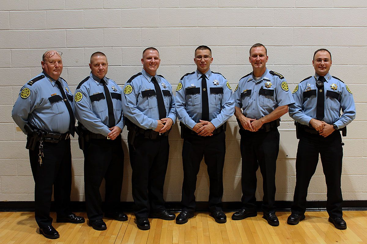 Three Montgomery County Sheriff's Officers Graduate from
