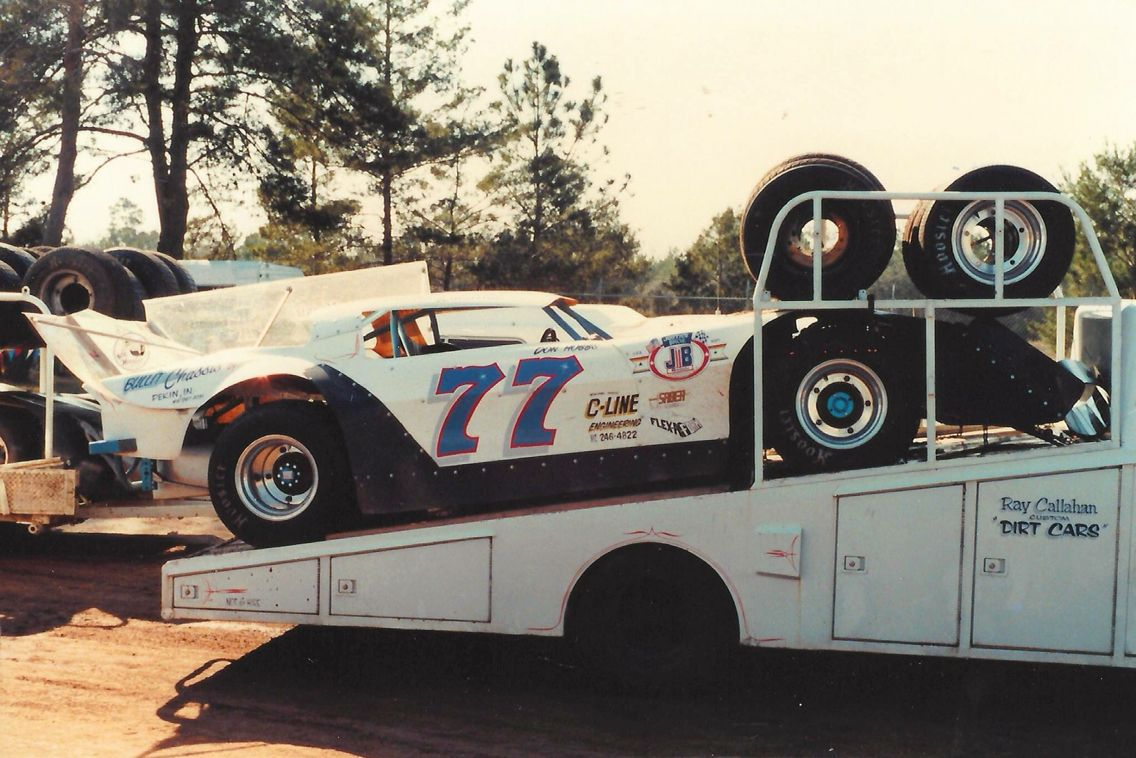 Vintage Dirt Late Model With Images Dirt Late Models Old Race