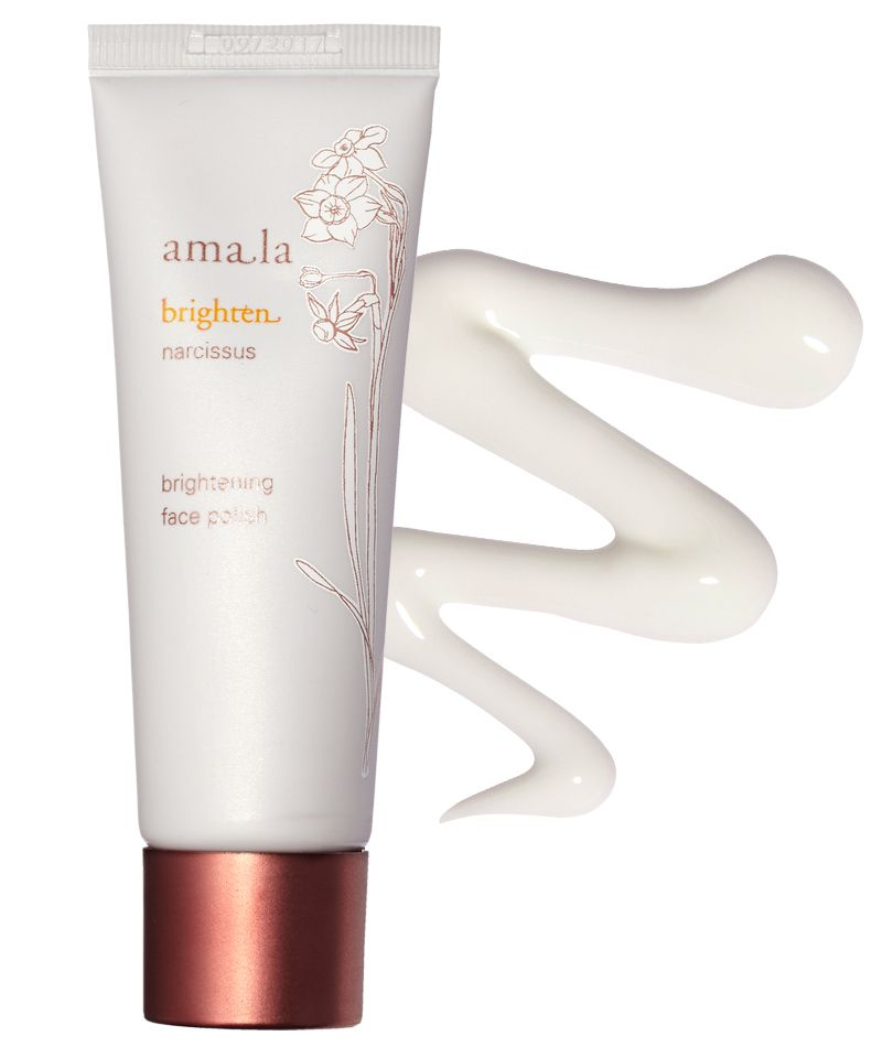 The Beauty Products Jessica Alba Always Has in Her Bag - Amala Brightening Face Polish from InStyle.com