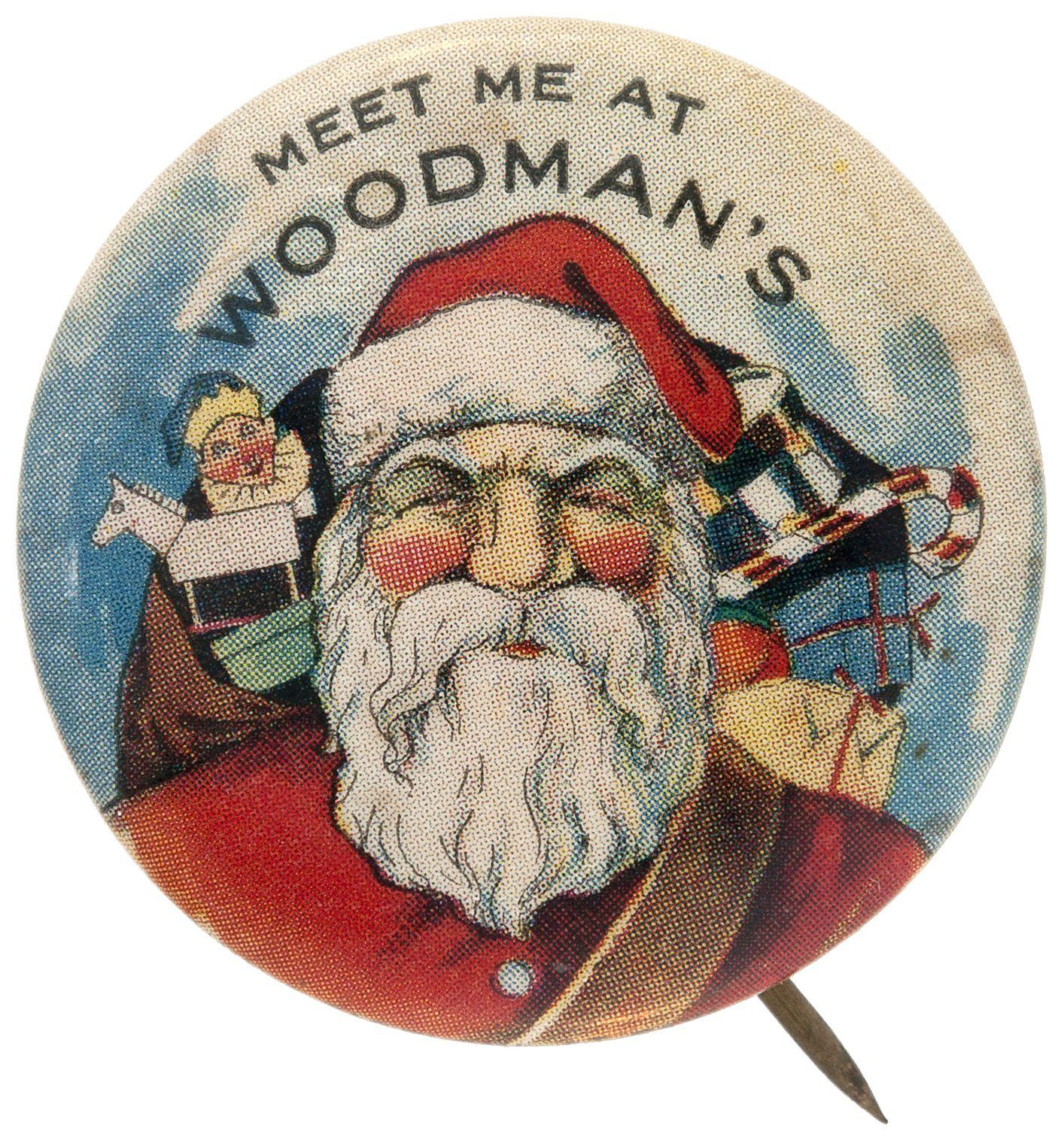 Knöpfe Weihnachtsmotive.Pin By Jim Lassiter On Santa Pinbacks Vintage Christmas Christmas