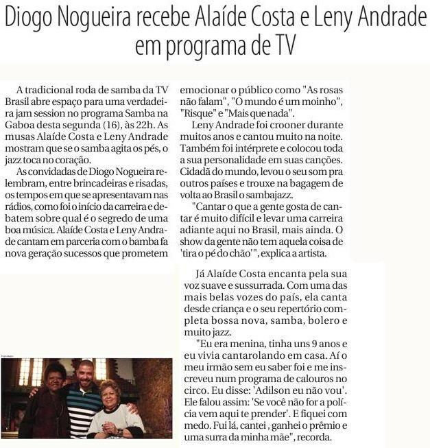 #DiogoNogueira 2015 #SambaNaGamboa #PovoDoRio