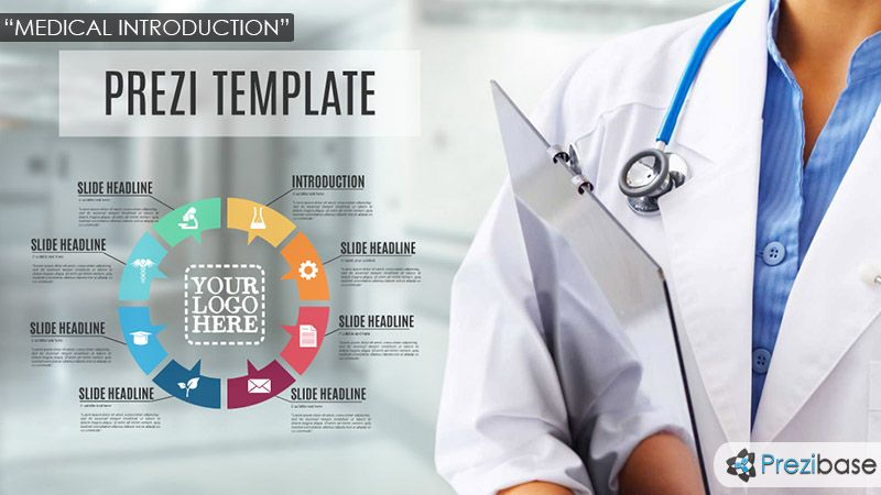 medical and healthcare doctor prezi template Prezi