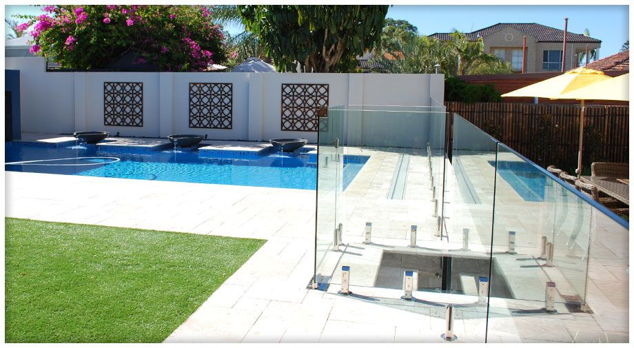 Glass Boundaries Supply And Install Superior Quality Glass Pool Fences And Glass Balustrades Throughout Perth Western Austr Glass Pool Fencing Pool Pool Fence