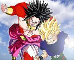 Dragon Ball Z Broly Wallpapers Desktop Resultado De Imagen Para Goku Y