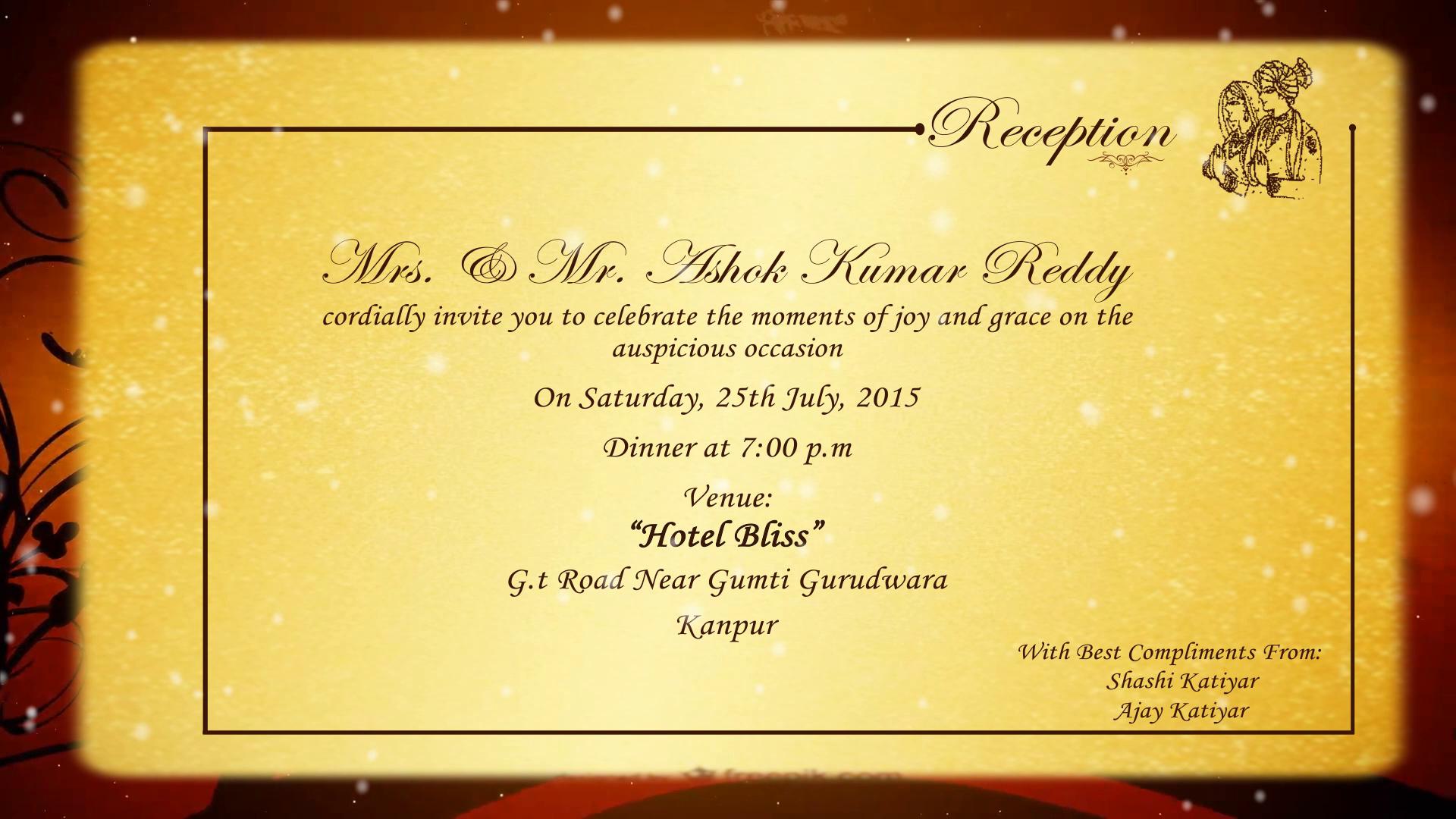 Image for Animated Wedding Invitations   sachin   Pinterest ...