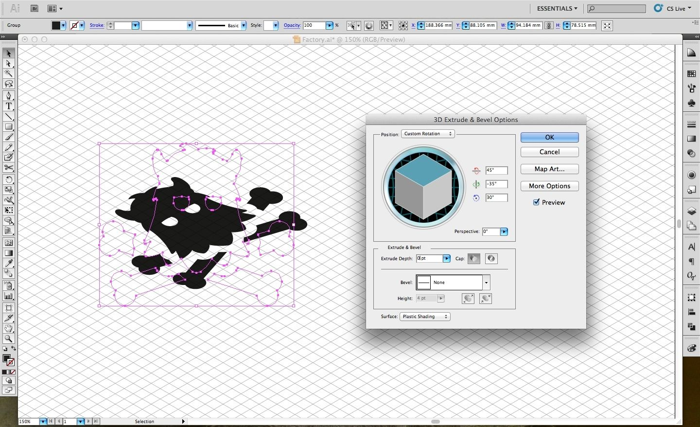 Adobe Illustrator tutorial: Design an isometric ...