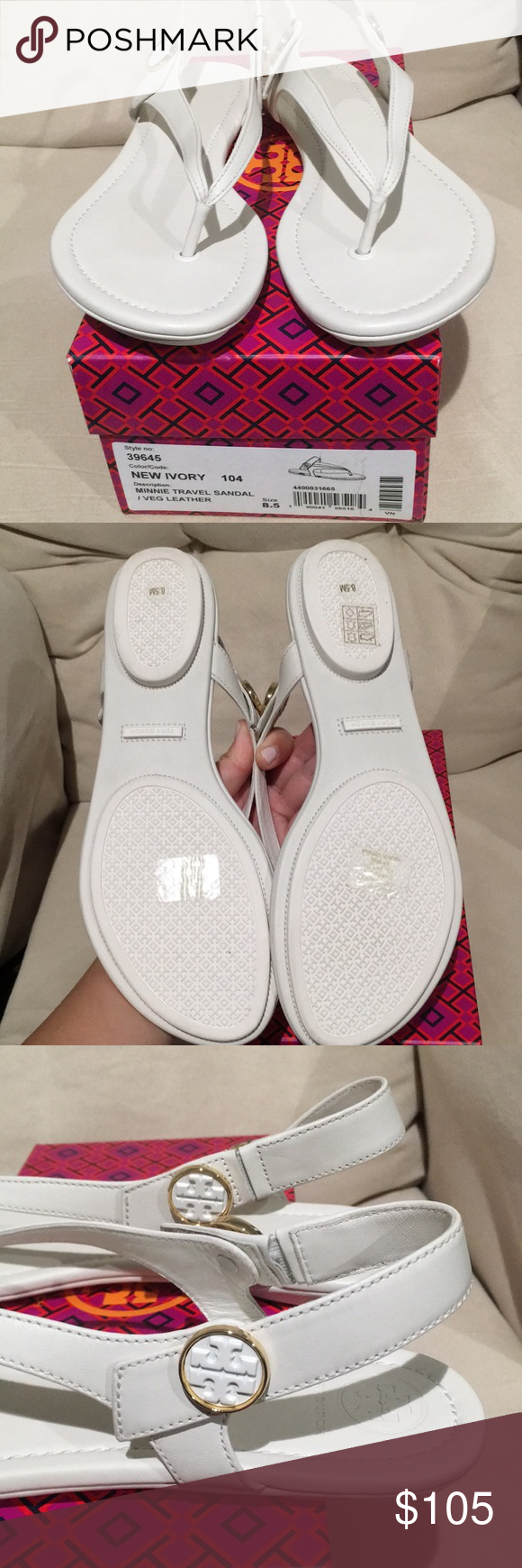 ce1c85ba145757 Tory Burch Minnie Travel Sandal Brand new never worn. Tory Burch Minnie  Travel Sandal in