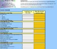 car maintenance spreadsheet repair upkeep | Family | Pinterest ...