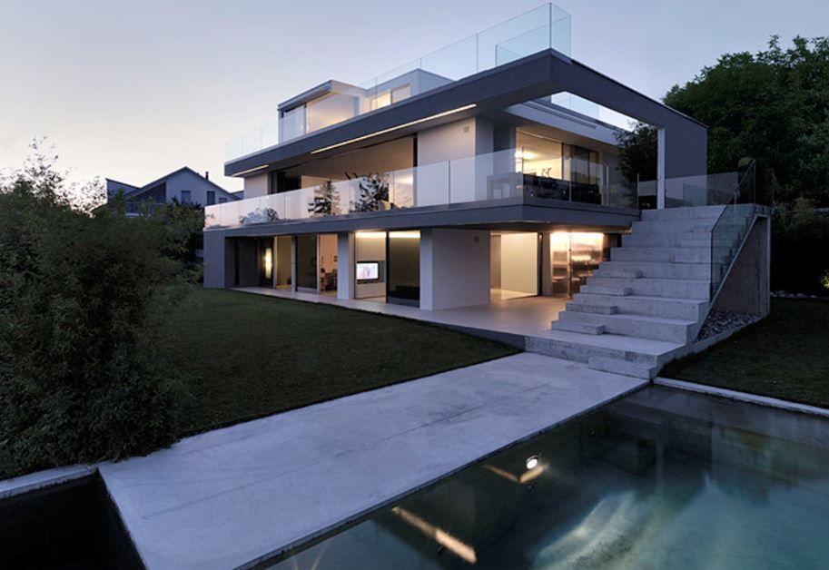 modelos-de-escaleras-exteriores-para-segundo-piso | Diseño viviendas ...