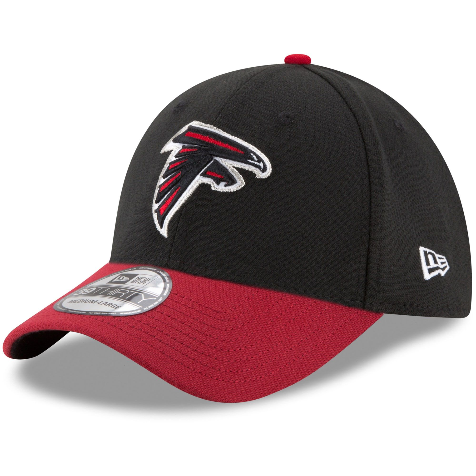 Atlanta Falcons New Era Team Classic Two Tone 39thirty Flex Hat Black Red Gear Up For Sports In 2020 Black And Red New Era Atlanta Falcons
