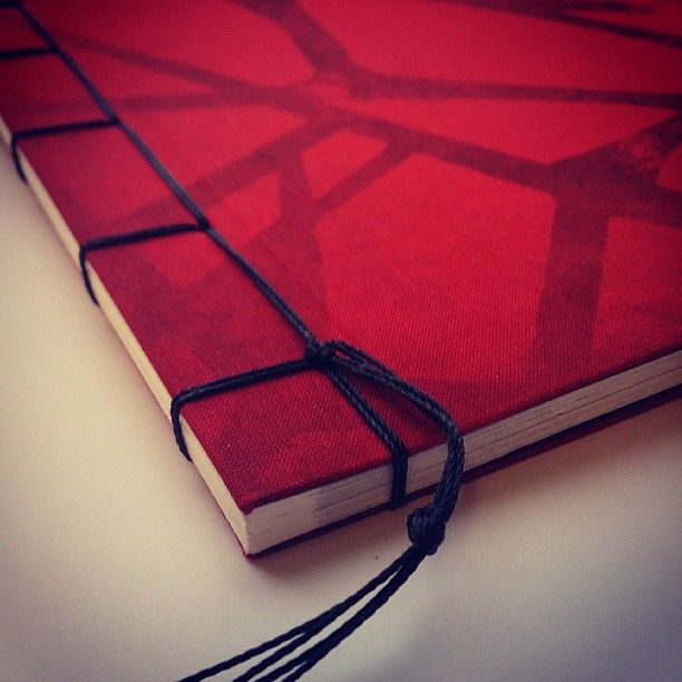Japanese Hand Bound Books. Cloth Cover Printed Short Run