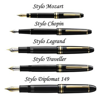 stylo a plume mont blanc meisterstuck