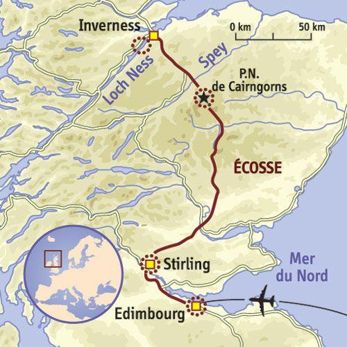carte Ecosse   Nessie, fantômes et Highlands | Scotland Forever