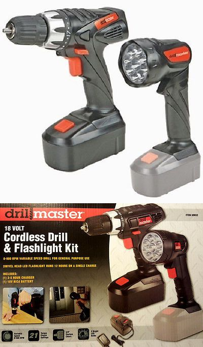 tools: 18 volt cordless 3 8 power drill driver rechargeable battery ...