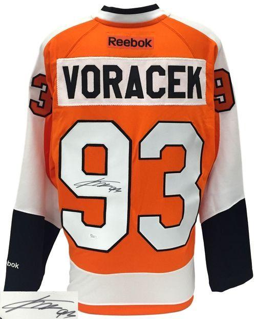 Jakub Voracek Signed Philadelphia Flyers Reebok Premier Jersey JSA