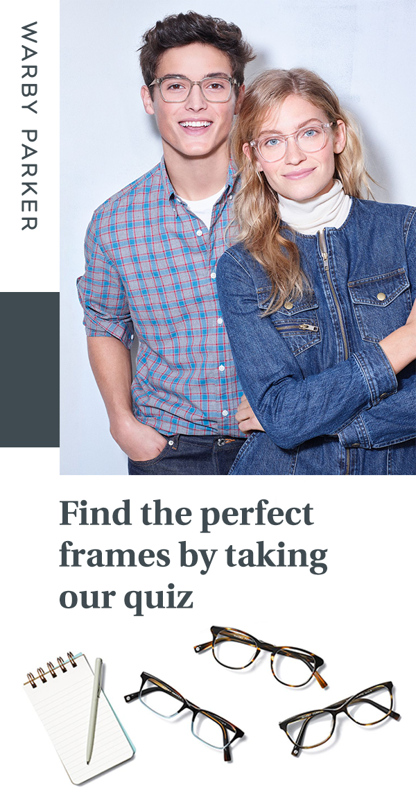 7e74d26550 Ready to find your most perfect frames  Take this quiz