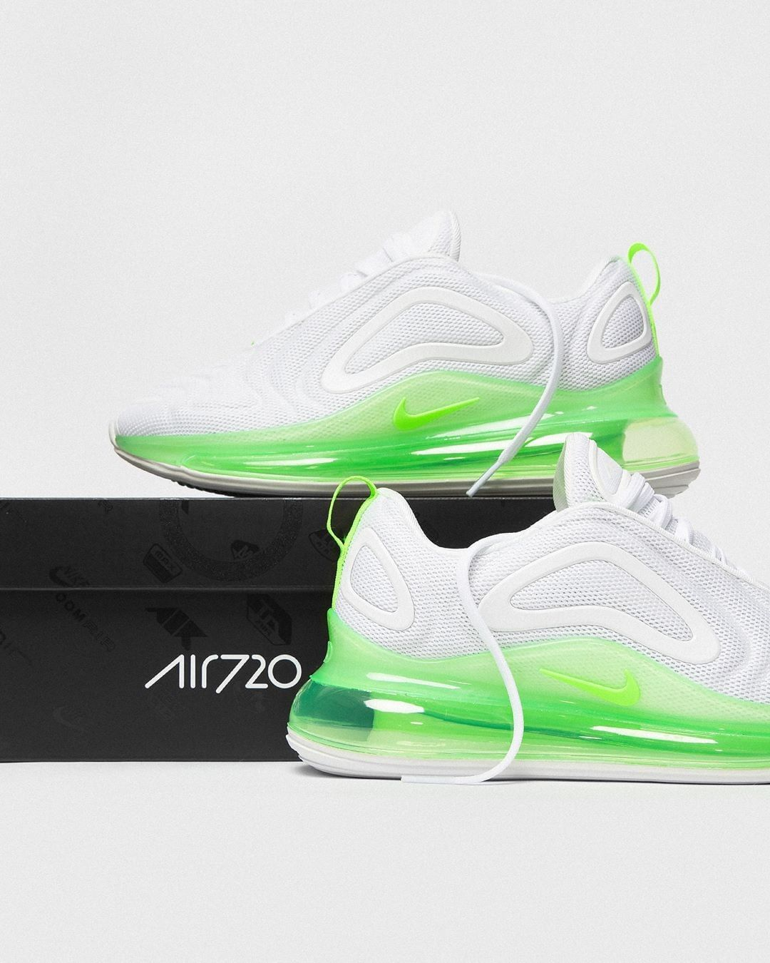 New Nike Wmns Air Max 720 Slime All Day Click To Shop Airmax Airmax720 Airmaxlove Sneakers Fashion Nike Air Max Best Sneakers