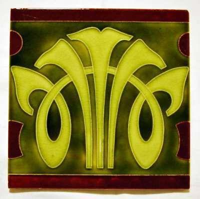 fliese, jugendstil, wienerberger   azulejos art nouveau, art nouveau, azulejos