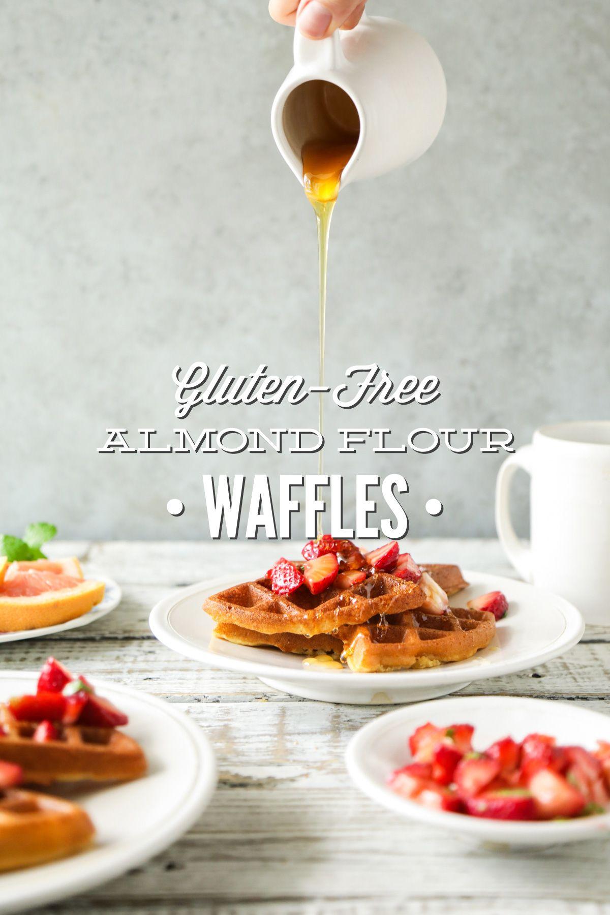 Gluten-Free Almond Flour Waffles | Recipe | Almond flour ...