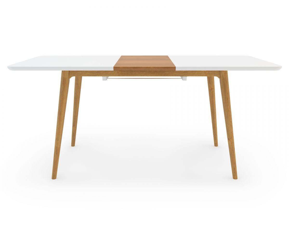 Extendable Dining Table Marcus Dining Table White Ash Modern