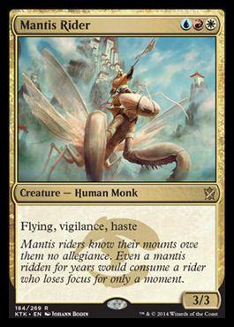 1 FOIL Siege Rhino Gold Khans of Tarkir Mtg Magic Rare 1x x1